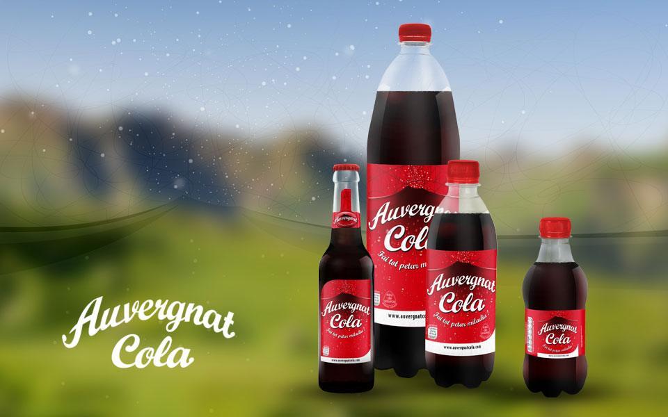 Shooting produits - Auvergnat Cola