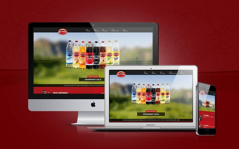 Site web - Auvergnat Cola