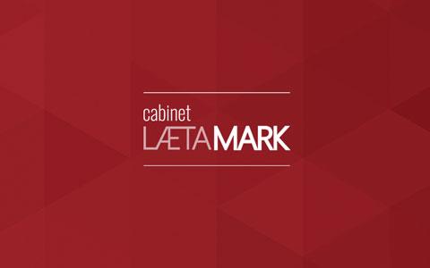 Logo et identité visuelle - Cabinet Laetamark