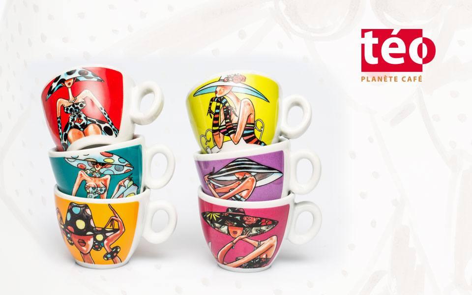 Packshot produits - Café Téo
