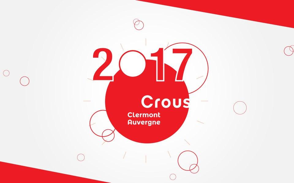 Carte de vœux vidéo - CROUS Clermont-Ferrand