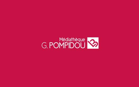 Logo et identité visuelle - Médiathèque Centre Pompidou