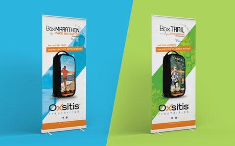 Supports de communication événementiels - Oxsitis