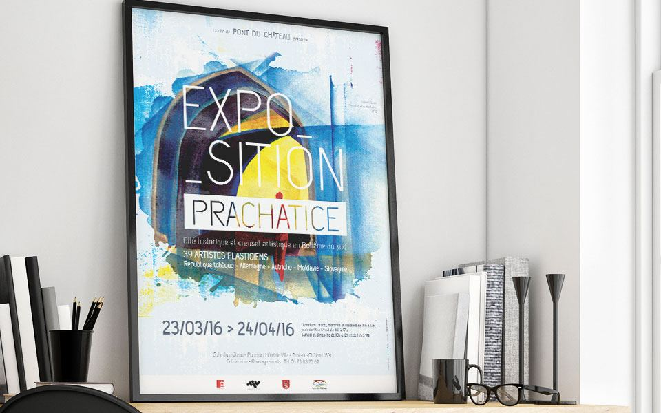 Affiche exposition Prachatice