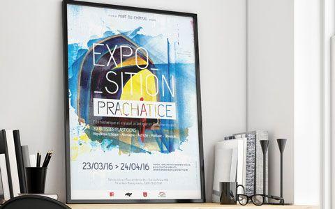 Affiche exposition Prachatice - Ville de Pont-du-Château