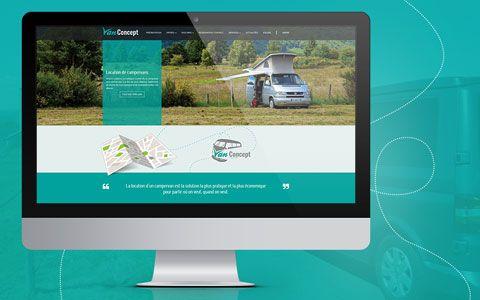 Site Internet - Van Concept